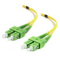 Alogic 20m SCA-SCA Single Mode Duplex LSZH Fibre Cable 09/125 OS2
