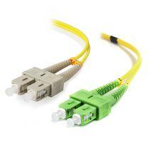 Alogic 20m SCA-SC Single Mode Duplex LSZH Fibre Cable 09/125 OS2