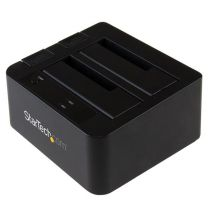 StarTech 2-bay USB 3.1 SATA dock with UASP - Tool-free & trayless