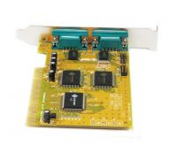 Konix SUNIX 4037D PCI 2 Port Serial Card ( Remap to DOS Address )