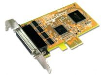 Konix PCIE 4 Port Low Profile Serial card
