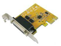 PCIE 2 Port Low Profile Serial card