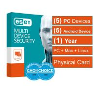 ESET Multi Device Advanced Security 5PCs+5Android 1Y