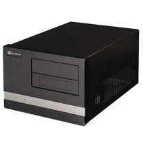 SilverStone SG02F Black Micro ATX Desktop Case