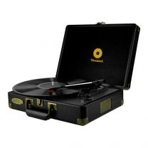 mbeat Woodstock Retro Turntable Player Black