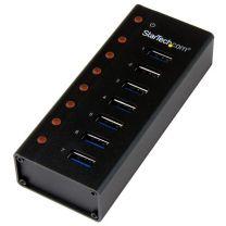 StarTech 7Port USB 3 Hub - Desk / Wall - Compact & Durable for Travel