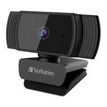 Verbatim Webcam FHD 1080P With Auto Focus Black