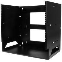 StarTech 8U Wall-Mountable Server Rack - Wall Rack w/ Built-in Shelf