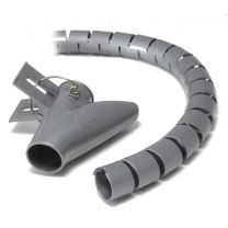 Alogic Ty-It 1.5m Zip Cable Wrap 20mm - Grey