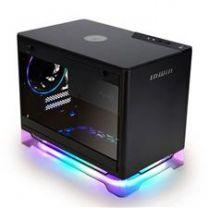 Inwin A1 PLUS ARGB Qi Charger TG Mini-ITX Case with 650W 80+ Gold PSU - Black