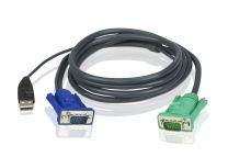 Aten 2L-5202U,USB KVM Cable 1.8M
