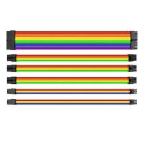 Thermaltake TtMod Sleeve Cable (Cable Extension) ? Rainbow (AC-049-CNONAN-A1)