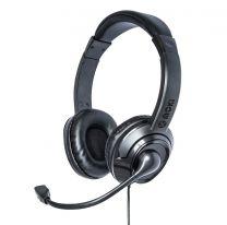 Moki USB Headphones With Boom Microphone