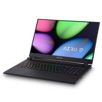 "Gigabyte Aero 17.3"" Laptop, i7-10750H/RTX2070S MQ/8GB/512GB/W10H"