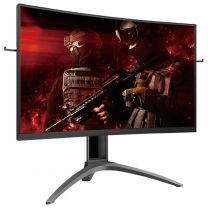 "AOC 31.5"" Curved QHD 144Hz 1ms FreeSync HAS Gaming Monitor"