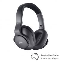 AKG N700NCM2 Wireless Adaptive Noise Cancelling Headphones - Black