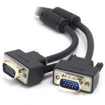 ALOGIC 1m VGA/SVGA Premium Shielded Monitor Cable With Filter Male to Male