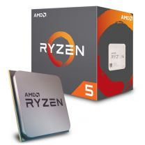 AMD Ryzen 5 2600 Processor, AM4 65W/6-Core/19MB