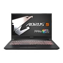 "Gigabyte AORUS 5 MB-5AU1130SH Gaming Laptop,15.6""FHD 144Hz, i5-10200H, 16GB RAM, 512GB SSD, GTX1650Ti, Windows 10 Home"