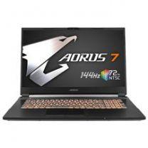 "Gigabyte AORUS 7, 17.3"", i7-10750H, 16GB, 512GB, GTX 1660Ti, Windows 10 Home"