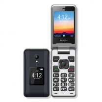 Aspera F42 Flip Phone 4G/LTE 2MP - Titanium