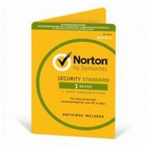 Norton Security Standard 2 Devices 1 Year - Digital Download for Windows, Android