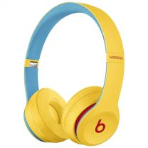 Beats Solo3 Wireless On-Ear Headphones Club Collection - Yellow