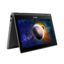 "Asus BR1100FKA 11.6"" HD 2-in-1 Touch Flip Laptop, N6000, 8GB RAM, 128GB eMMC, Windows 10 Pro"