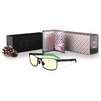 Gunnar Razer FPS Indoor Holiday Set Gaming Eyewear - Amber Tint / Onyx Frame Color