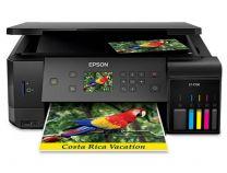 Epson EcoTank ET-7700 Colour Inkjet Wireless Multi-Function Printer (Print/Copy/Scan)