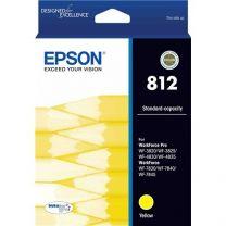 Epson 812 Standard Capacity DuraBrite Ultra - Yellow