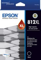 Epson 812XL High Capacity Capacity DURABrite Ultra Ink Cartridge - Black