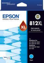 Epson 812XL HighCap DuraBrite Ultra - Cyan