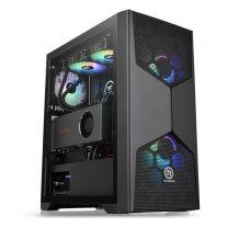 Thermaltake Commander G31 ATX ARGB Tempered Glass Computer Case - Black