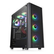 Thermaltake V250 ATX ARGB Tempered Glass Computer Case - Black
