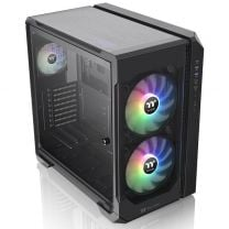 Thermaltake View51 E-ATX ARGB 3-Sided Tempered Glass Computer Case - Black