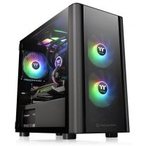 Thermaltake V150 RGB Tempered Glass Micro-ATX Case With Pre-Installed 3 ARGB Fans