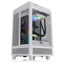 Thermaltake The Tower 100 Mini Tempered Glass M-ITX Case - Snow Edition