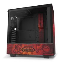NZXT H510 ATX WarCraft Horde Edition Tempered Glass Side Computer Case - Red