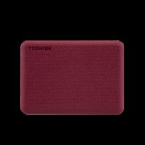 Toshiba Canvio Advance V10 4TB External HDD--Red