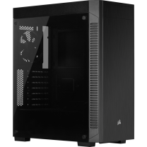 Corsair 110R Tempered Glass Mid-Tower ATX Gaming Case - Black