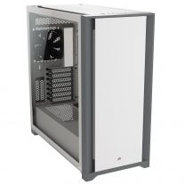 Corsair 5000D Tempered Glass Mid-tower ATX PC Case — White
