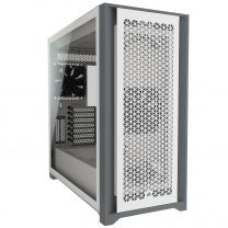 Corsair 5000D Airflow Tempered Glass Mid-tower ATX PC Case — White