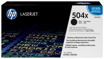 HP CE250X Black Toner 10,500 Page Yield