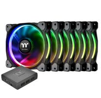 Thermaltake Riing 14 Plus RGB TT Premium Radiator Fan 5 Pack