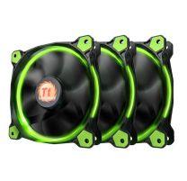 Thermaltake Riing 12 Green High Static Pressure Fan - 3 Pack
