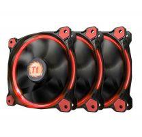 Thermaltake Riing 12 Red High Static Pressure Fan - 3 Pack