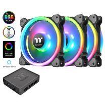 Thermaltake Riing Trio 12 LED RGB Radiator Fan TT Premium (3-Fan Pack)