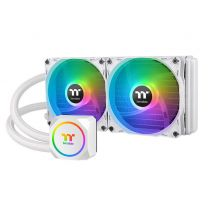 Thermaltake TH240 ARGB Sync 240mm All-In-One Liquid CPU Cooler - White Snow Edition