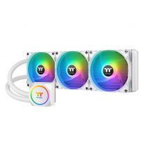 Thermaltake TH360 ARGB Sync All-In-One 360mm Liquid CPU Cooler - White Snow Edition